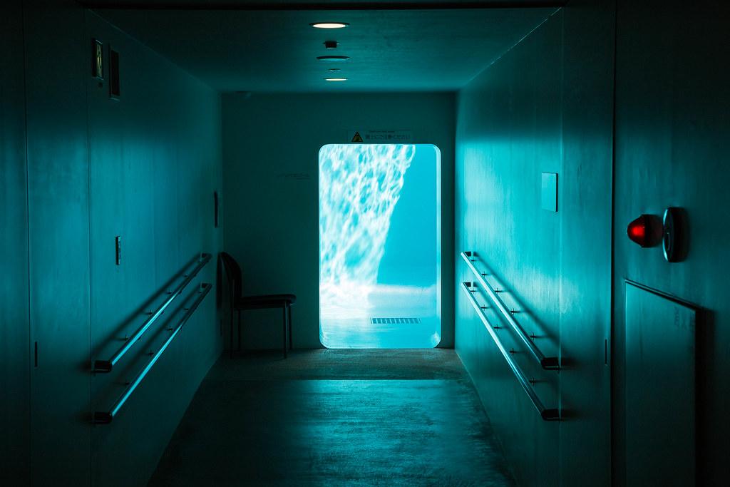 Bleu piscine