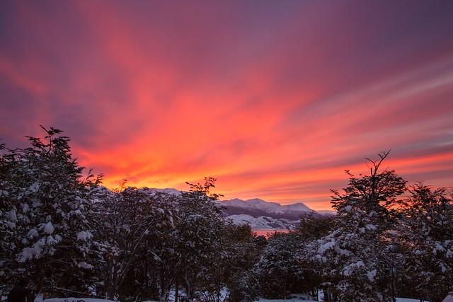 Amanecer en Ushuaia 2