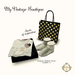 shine by [ZD] My Vintage Boutique - seeds of inspiration