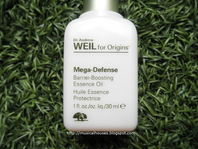Origins Mega Defense Oil Review Barrier Boosting Essence
