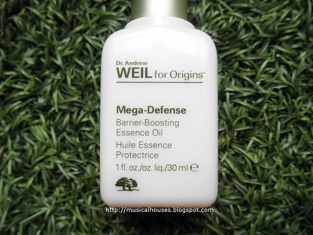 Origins Mega Defense Oil Review Barrier Boosting Essence