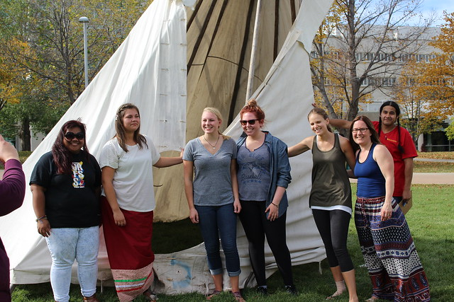 Glen Anaquod Tipi Raising Competition 2015