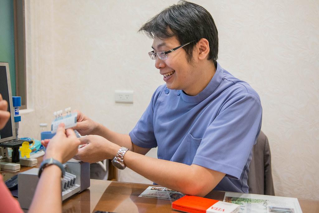 白牙萬事順,一切都要從到人本自然牙醫做牙齒美白陶瓷貼片說起  (13)