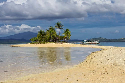 beach boat flickr paradise pacific coconut philippines palm tropical banca palawan hondabay sulusea barlasisland waterlastfrontier