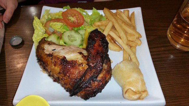 2016-Jan-20 Silvestre - quarter chicken Pollo a la Brasa