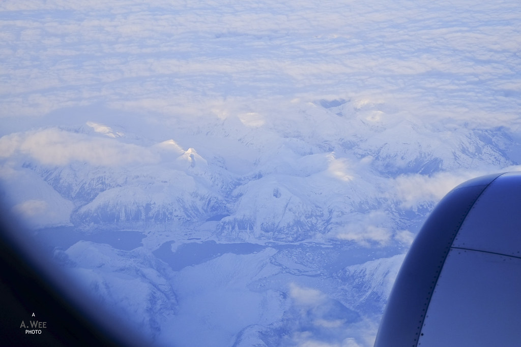 More views of snow-capped mountains