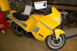 1988 MZ ETZ 250 motorcycle
