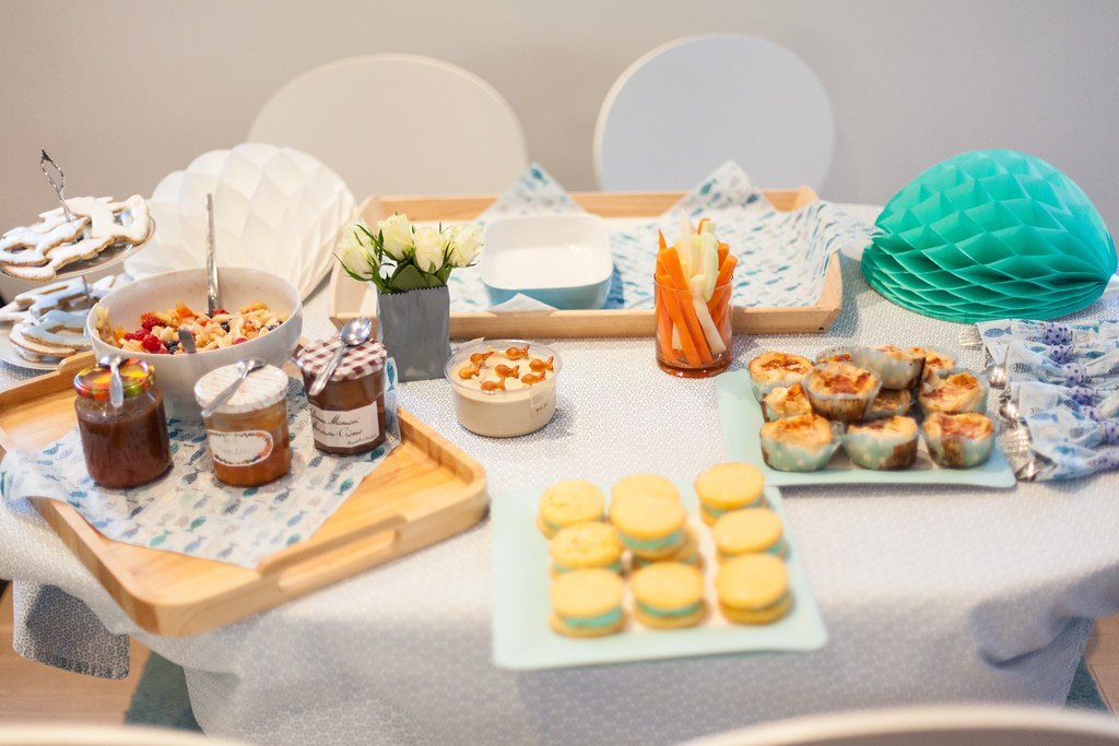 baby boy party - rezepte und freebies am blog!