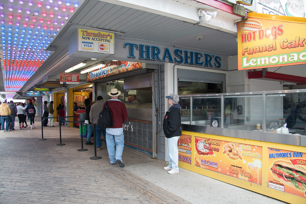 Thrashers French Fries in Ocean City