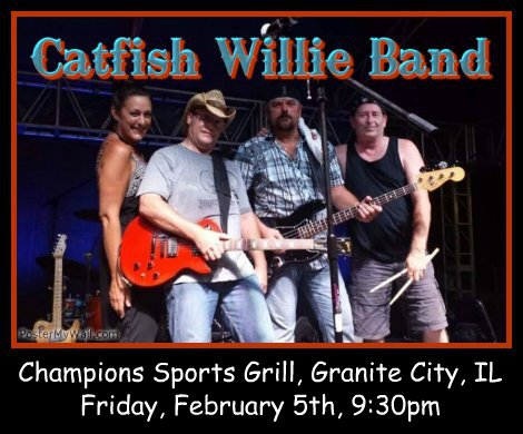Catfish Willie Band 2-5-16