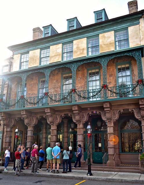 Charleston walking tour