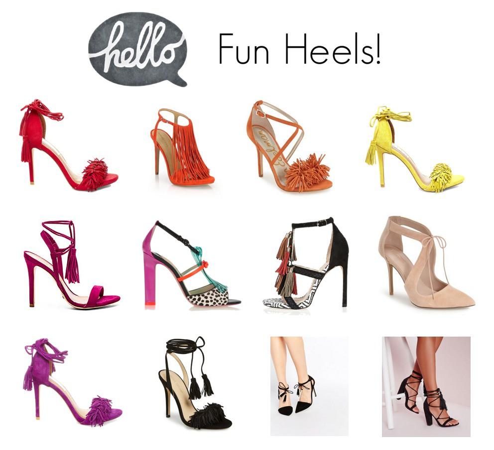 fun heels