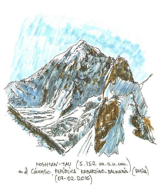 Koshtan-Tau (5.152 m.s.n.m.)