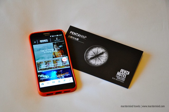 Free Use of Smartphone from pentahotel