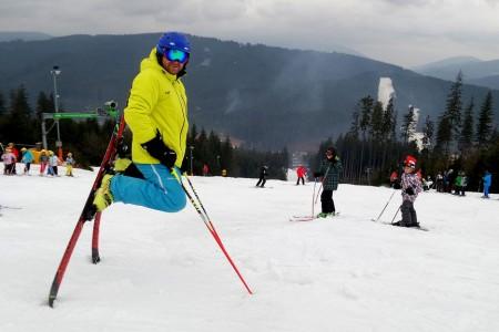 SNOWtour 2015/16: Bílá – až omrzí lyže, je čas na snowbike