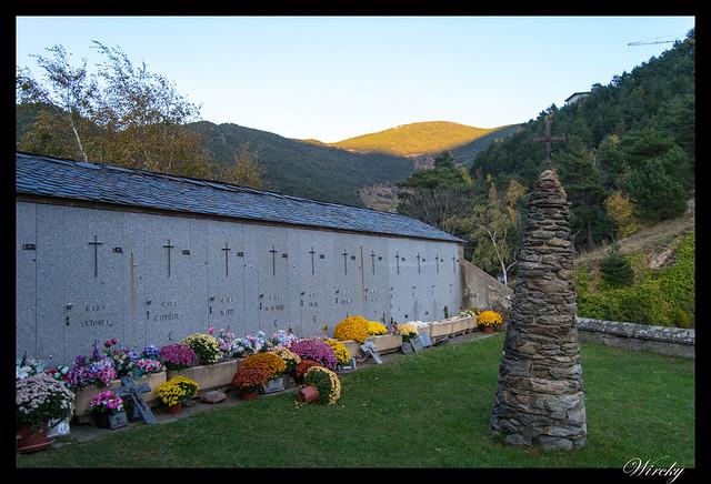 Cementerio Iglesia de Sant Cristòfol de Anyós