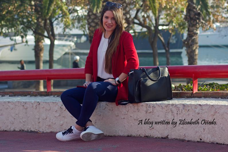chaqueta roja ZARA deportivas massimo dutti HEELSANDROSES (3)