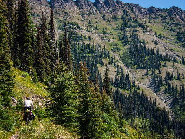 Riding the Swan Lake Trail