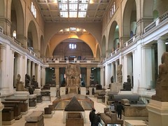 The #Egyptian #Museum in #Cairo grand hall #Citizenjournalism #blogger #Egypt #ThisisEgypt #downtownCairo #Discoveryourcity #ancientegypt #History