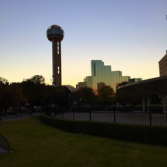 Reunion Tower Twilight