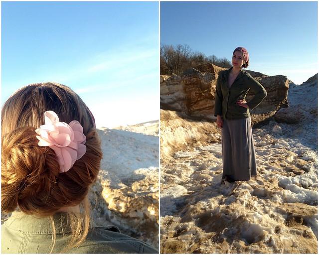 Outfit // Beach Garland