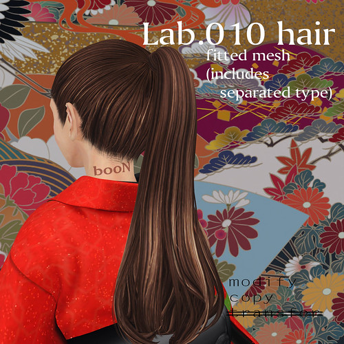 booN Lab.010 hair @hairology