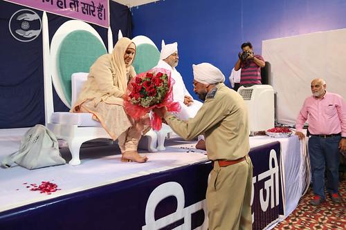 Welcome by SNSD Shikshak, Manmohan Khurana