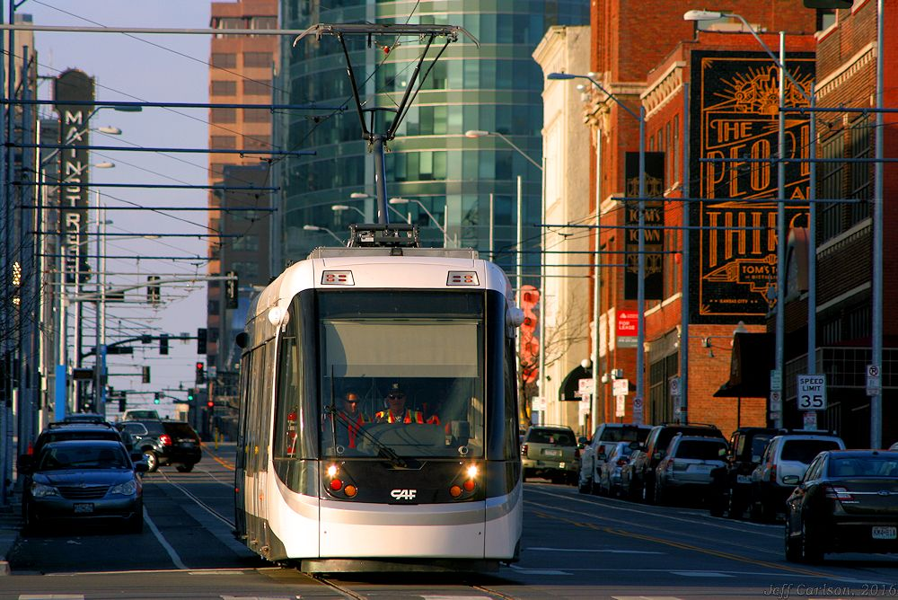 18th & Main, KC Streetcar
