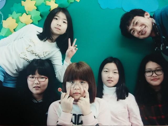 화북초등학교 6학년 : 작은학교가 아름답다