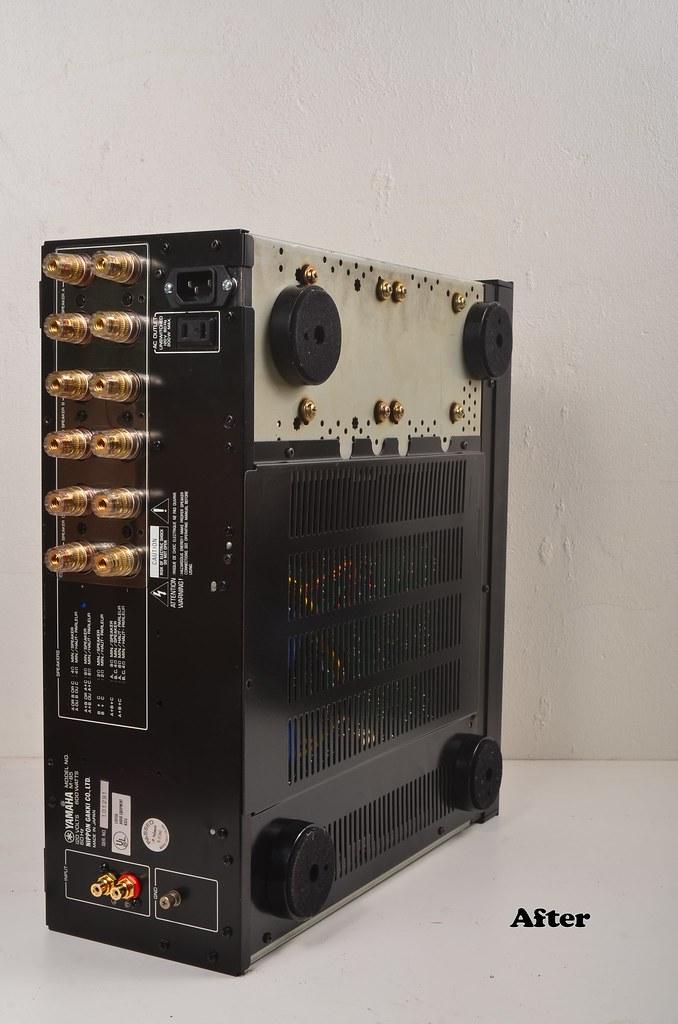 Yamaha M-85 restoration after (3)   Undying Audio Repair