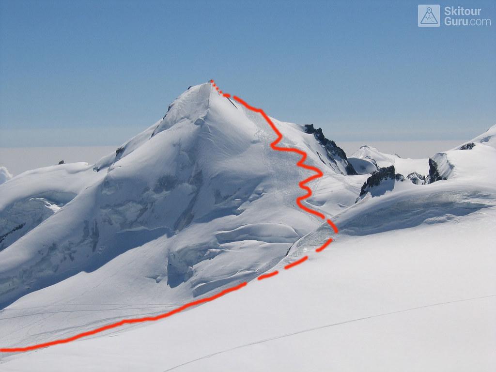 Strahlhorn Walliser Alpen / Alpes valaisannes Schweiz foto 26