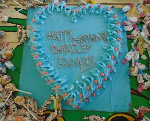 "O""Malley House Birthday Cake"