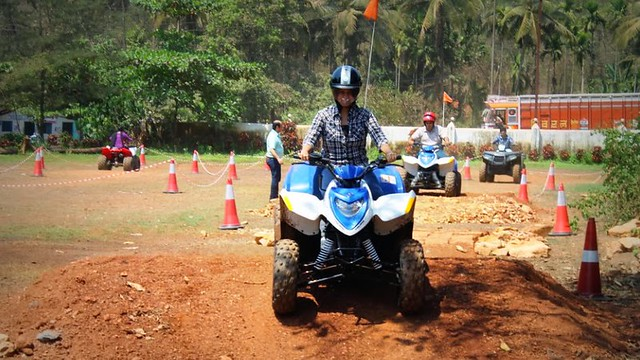 ATV Ride Jungle Trail in Goa