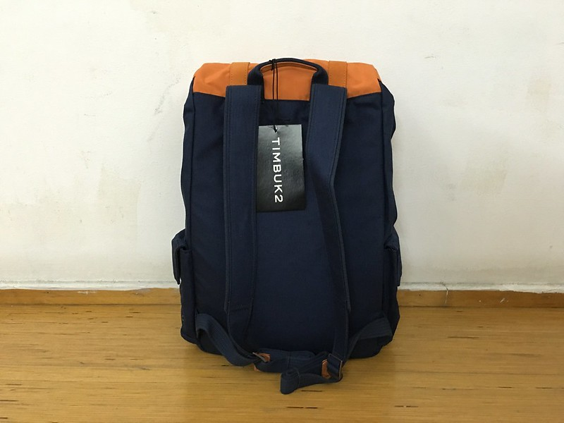 Timbuk2 Sunset Backpack (Orange & Blue) - Back