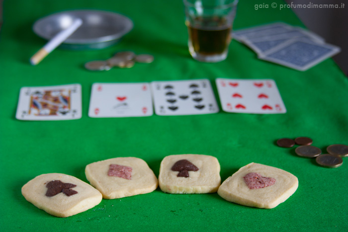 Poker di assi - Ace Cookies