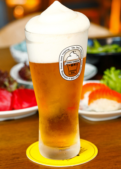 Ichiban the Izakaya Kirin Ichiban Frozen Beer