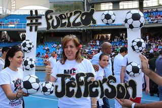 Partido benéfico por Jefferson Herrera