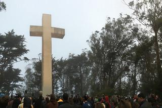 Mt. Davidson - Easter Sunday mass