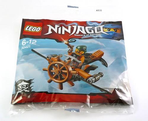 LEGO Ninjago 30421 Skybound Plane 01