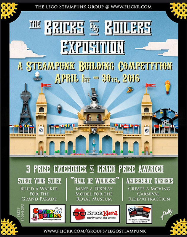 "The ""Bricks & Boilers"" Exposition – Steampunk Competition 2016"