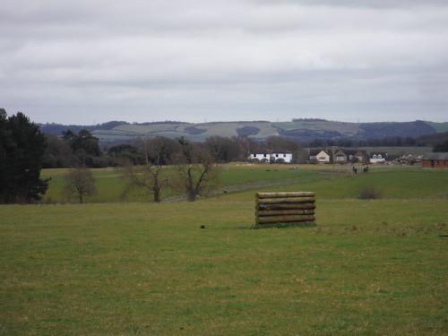 Chiltern Views beyond Green End Farm, from Greensand Ridge Walk