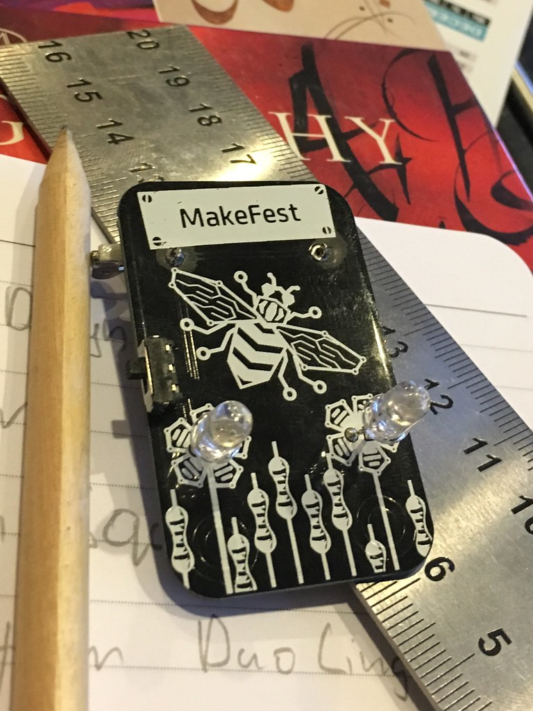 Helen's Makefest Badge