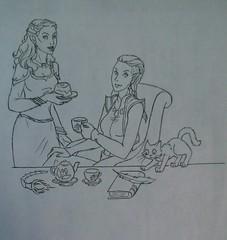 Чаепитие - Вегра, Идрнали и Нелот