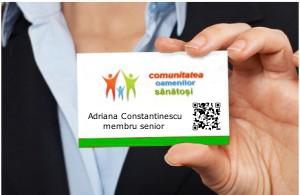 Ti-ai luat cardul membru Comunitatea Oamenilor Sanatosi?