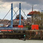 Swing Bridge at Preston Docks