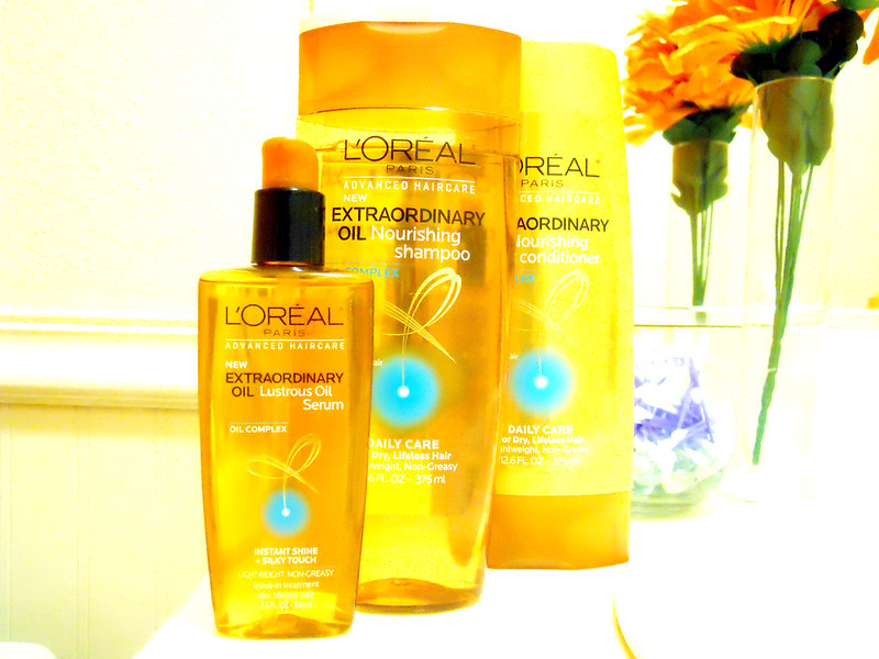 Loreal Paris Extraordinary Oil Hair Line  2