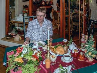 Frühstück in der Pension Gessert, Keetmanshoop