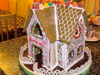 Gingerbread house Dec 2015