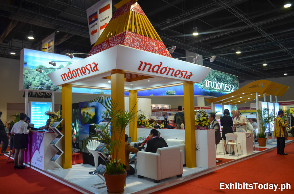 Wonderful Indonesia Trade Show Display