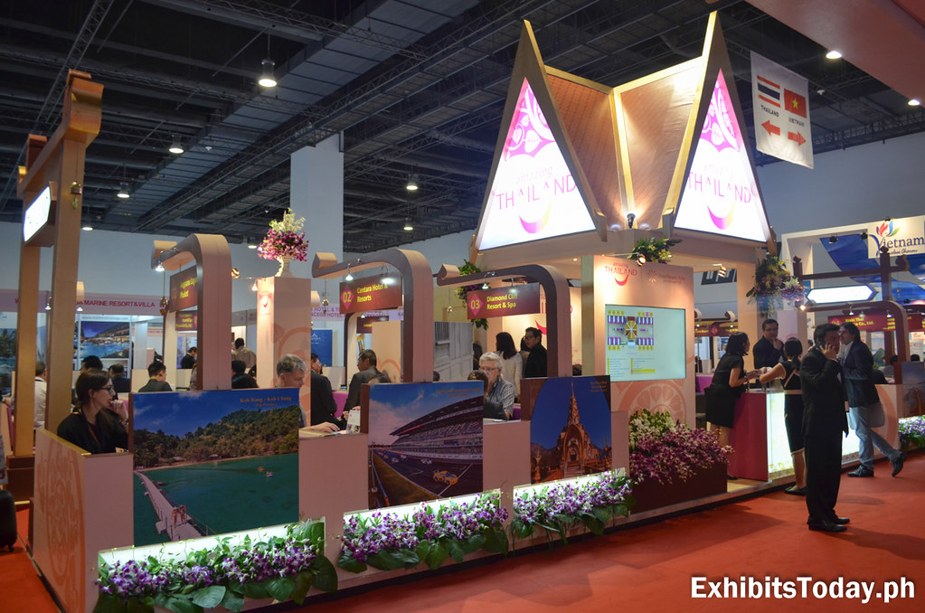 Amazing Thailand Trade Show Display (front)